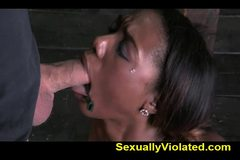 Chanell gets wrecked and helpless pt 1