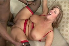 No Sound: Mature having interracial sex with her boyfriend