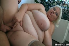 Huge woman slut gets fucked hard