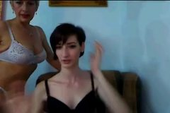 Amateur Mother and not her Daughter Play on Cam 5-26-12