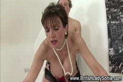 Mature Lady Sonia gets fucked