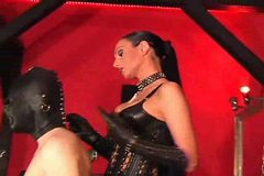 Mistress gives a slave a hot session