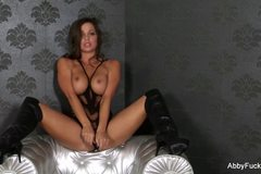 Abigail Mac Dildos Herself