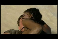 Jenna Brooks aka Bambi Bliss hot anal sex on the beach