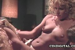 Debi Diamond and Rebecca Bardoux - Vintage Pornstars In Foursome Group Sex