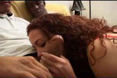 Katja shared in a gangbang by her husband