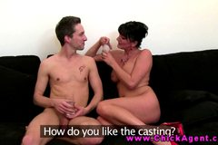 Eurosex casting agent fucked by client
