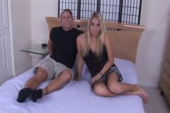 Young Blonde Wife gets BBC & Hubby Smiles! Rd & Comment