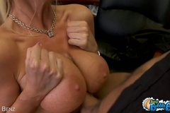 Hot Blonde Bounces Her Big Ass All Over A Thick Cock!