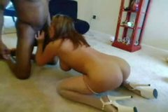 Wife Fucks BC for Hubby on Cam