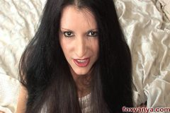 Foxy Anya Blows Cock Cum Shot On Hair