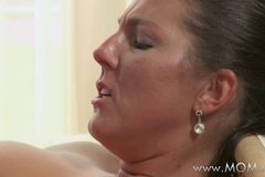 MILF can't get enough of his cock