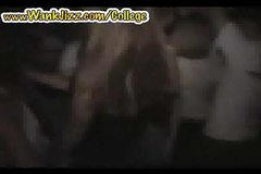 Girls butt-naked Naked at party