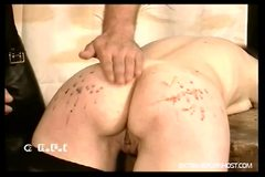 Brutal caning and humiliation