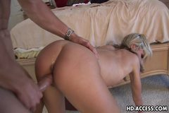 Sexy Courtney Simpson gets some hard anal sex