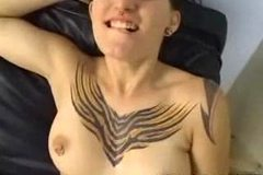 EMO Homemade Goth Girl POV Blowjob!