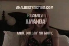 Anal Destruction. Amanda.