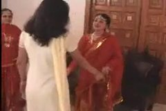 Two Indian Girls Fucked by Their Madam