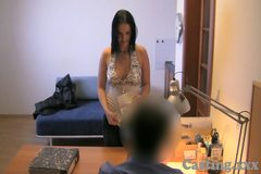 Casting HD Big boobs amateur plays hard to get
