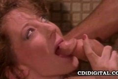 Goldie - Beautiful Retro Babe Fucked In The Shower