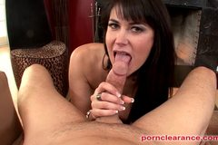 Busty MILF Eva Karera Eats Cock For Facial