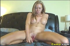 Cam: Busty HOT Dildo Masturbating Babe HD