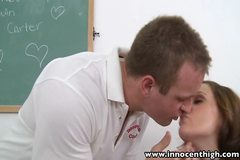 InnocentHigh Valentine Special Teen Lily Carter fucked squir