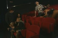Cinema cession turn into orgy
