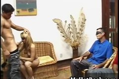 Mirella Soares is a gorgeous Latina who puts on he