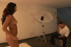Beautiful tanned latin MILF Anita gets a serious assfucking