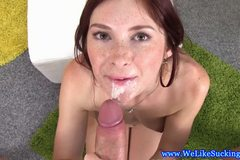 Teen amateur blowjob babe pov dick drooling
