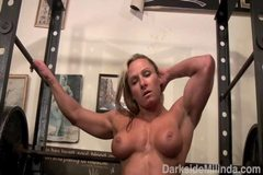 Darkside Milinda - SheMuscle Gym Workout