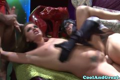 Small titted Tori Black pounded hard