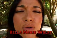 Bella Marie Wolfe Commands A Harem Of Hard Cocks