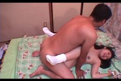 Japanese school nympho taped taking hungry shaft hardcore