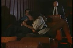 Hot Group Sex In Porno Theater