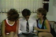 Christy Canyon Erica Boyer and Peter North