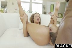 Interracial Anal Sex with Jada