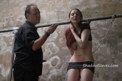 Filthy dungeon whipping and private bdsm