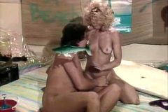 Classic vintage scene with Nina Hartley