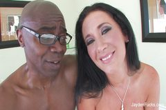 Jayden Jaymes's Interracial With Sean Michaels