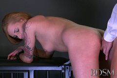 Master gives young sub her first real domination experience