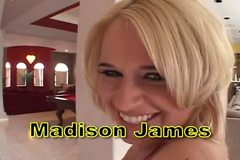 Big Butt Madison James Couch Fuck