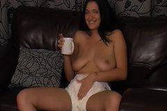Girl wearing diapers 610