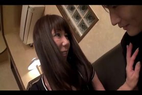 50yr old Granny Takako Ueno Dominates a Guy (Uncensored)