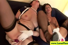 Mature stocking milfs sucking