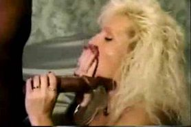 Mature hot blonde wife gets fucked by BBC