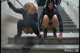 Piss; Two Girls Pissing