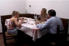 Step Father Fucking a Teen Her Mother is Watching. Anal view on tnaflix.com tube online.