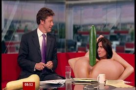 Susanna Reid demonstrates sex toys on BBC Breakfast